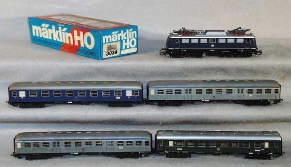 1015: MARKLIN TRAIN SET, HO ga
