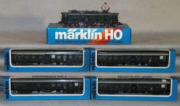 1017: MARKLIN TRAIN SET, HO ga
