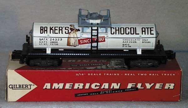 1023: AF 24323 BAKER¹S CHOCOLATE TANK CAR