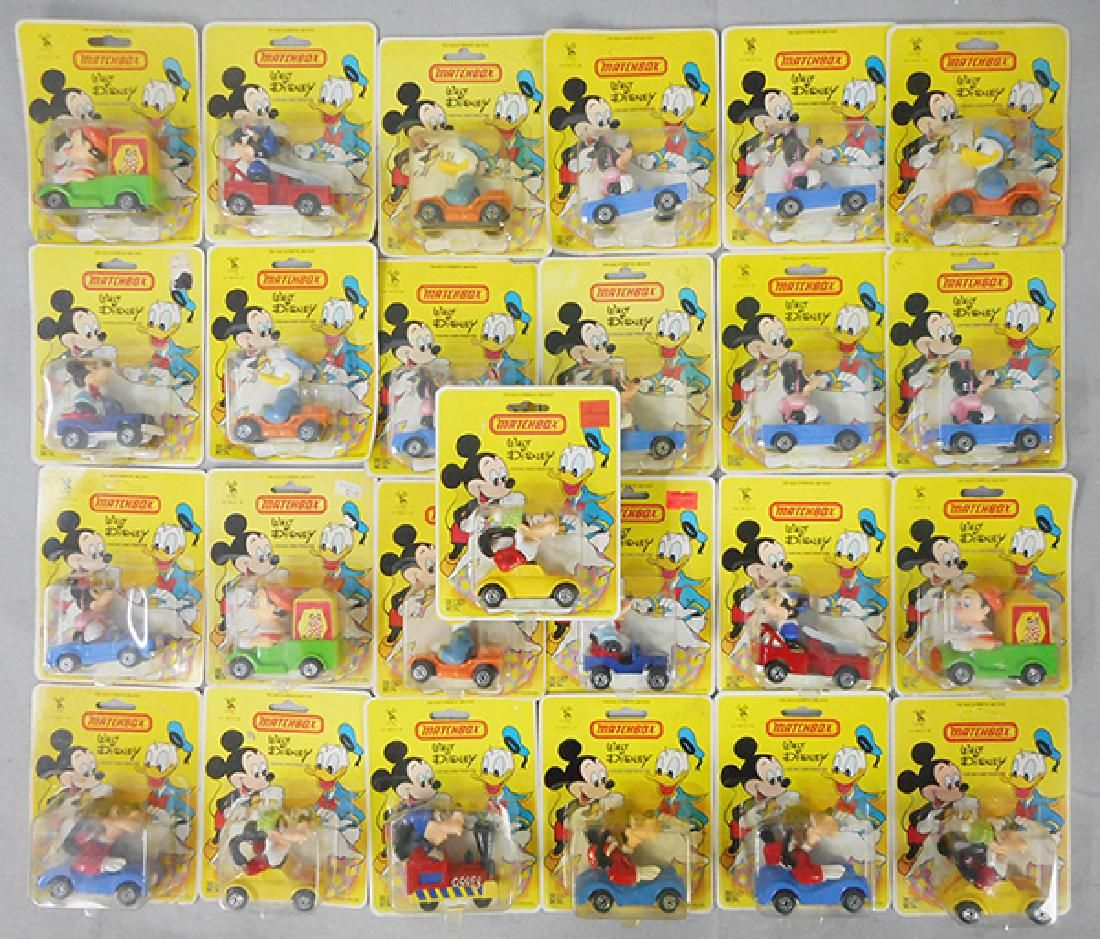 25 MATCHBOX DISNEY VEHICLES