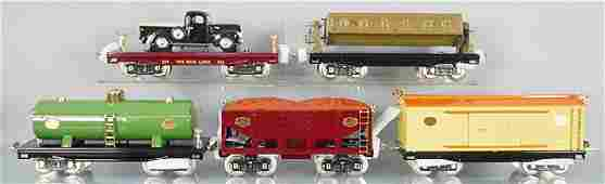 5 MTH LIONEL FREIGHT CARS