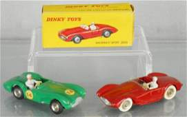 2 FRENCH DINKY SPORTS CARS