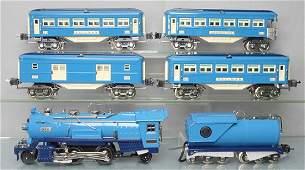 MTH LIONEL BLUE COMET TRAIN SET