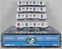 MTH R32 4CAR SUBWAY SET