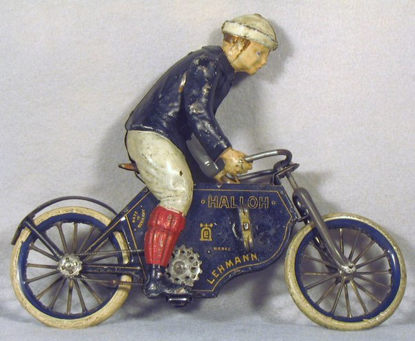 237A: LEHMANN 683 HALLOH MOTORCYCLE RIDER