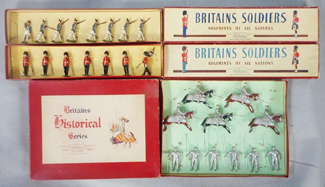 3 BRITAINS SETS