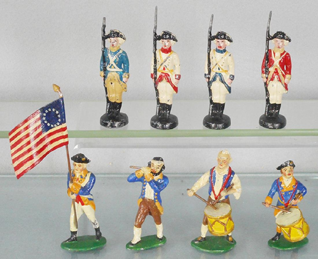4 HISTORICAL MINIATURES SOLDIERS