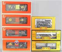 7 LIONEL  MTH FREIGHT CARS