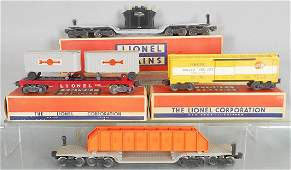 4 LIONEL FREIGHT CARS