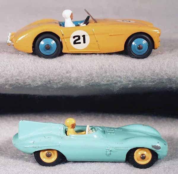 5: 2 DINKY RACING CARS
