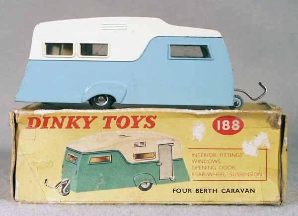 9: DINKY 188 4-BERTH CARAVAN