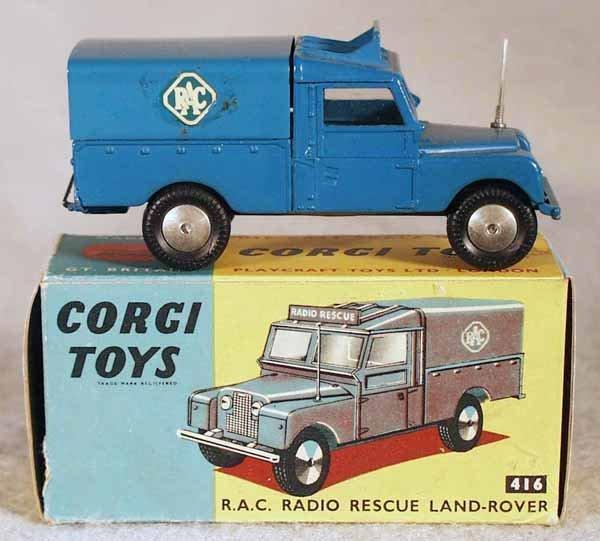 14: CORGI 416 RAC RADIO RESCUE LAND ROVER