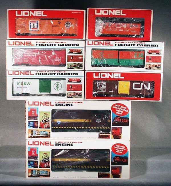 005A: LIONEL MPC TRAIN SET