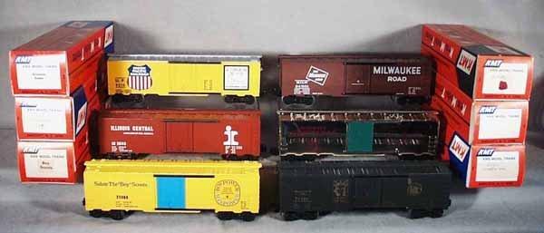 007A: 6 KMT BOX CARS