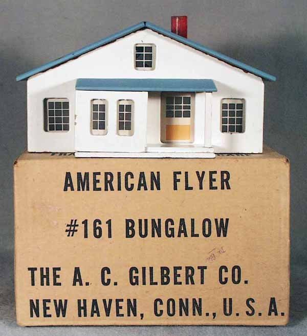 017A: AMERICAN FLYER 161 BUNGALOW