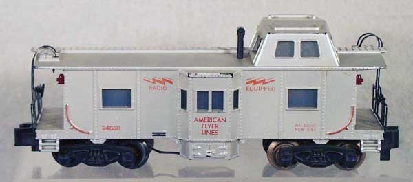 020A: AMERICAN FLYER 24638 CABOOSE
