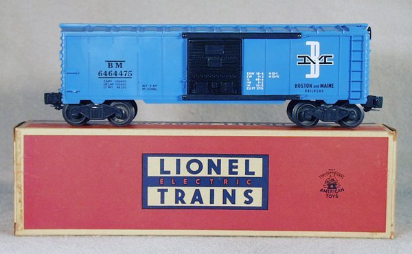 023A: LIONEL 6464-475 B&M BOX CAR