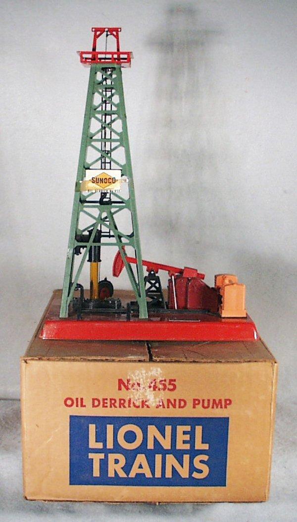 385A: LIONEL 455 OIL DERRICK