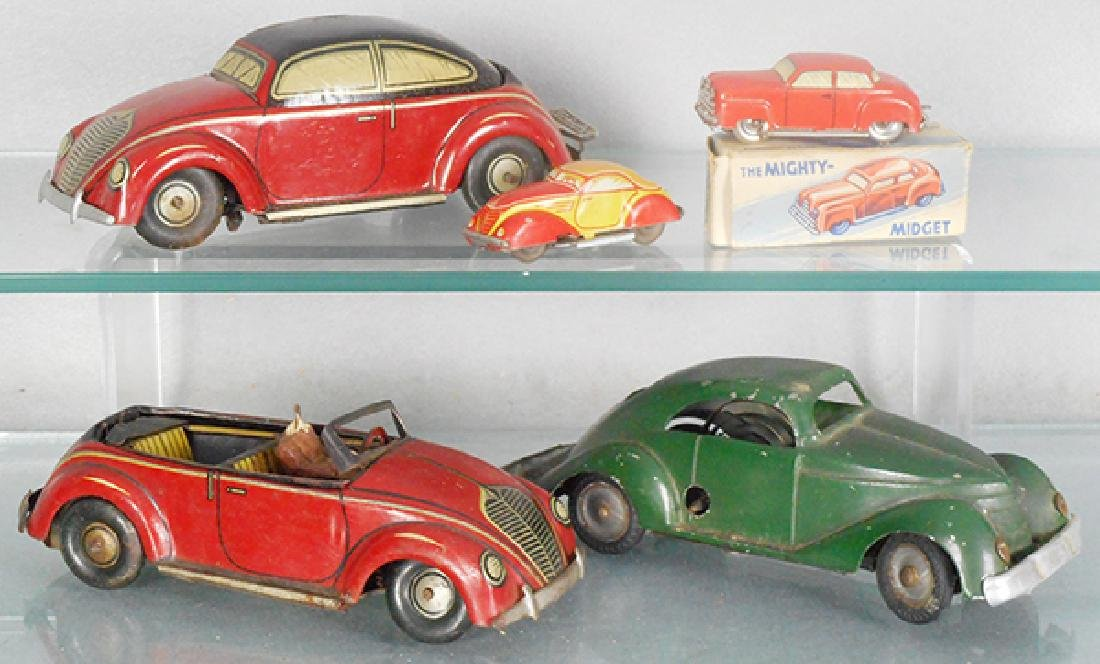 5 TOY CARS
