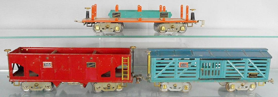 3 AMERICAN FLYER FREIGHT CARS