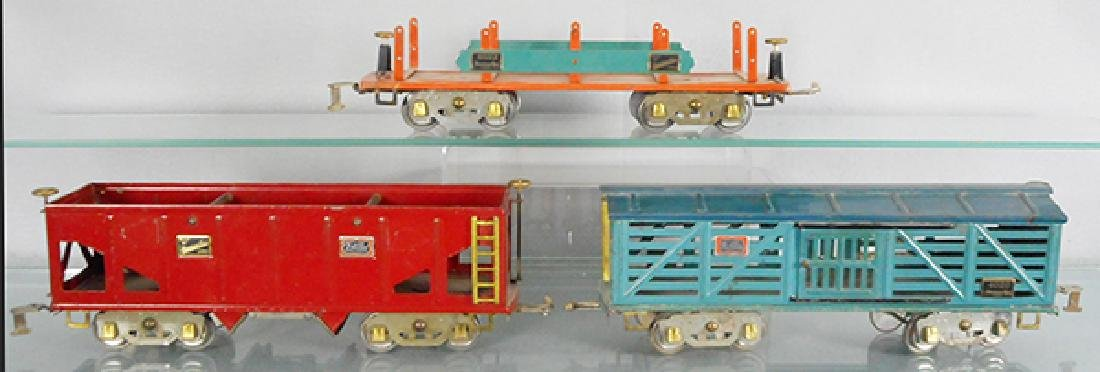 3 AMERICAN FLYER FREIGHT CARS - 2