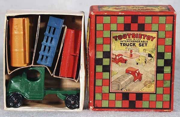 1: TOOTSIETOY 170 INTERCHANGEABLE TRUCK SET