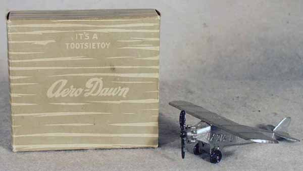 5: TOOTSIETOY 4600 AERO-DAWN AIRPLANE