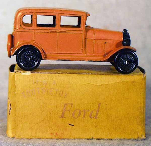 10: TOOTSIETOY 6665 FORD MODEL A SEDAN