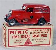 241: MINIC 3M FORD ROYAL MAIL VAN