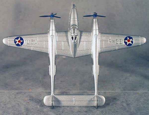 434: TOOTSIETOY US P38 FIGHTER PLANE