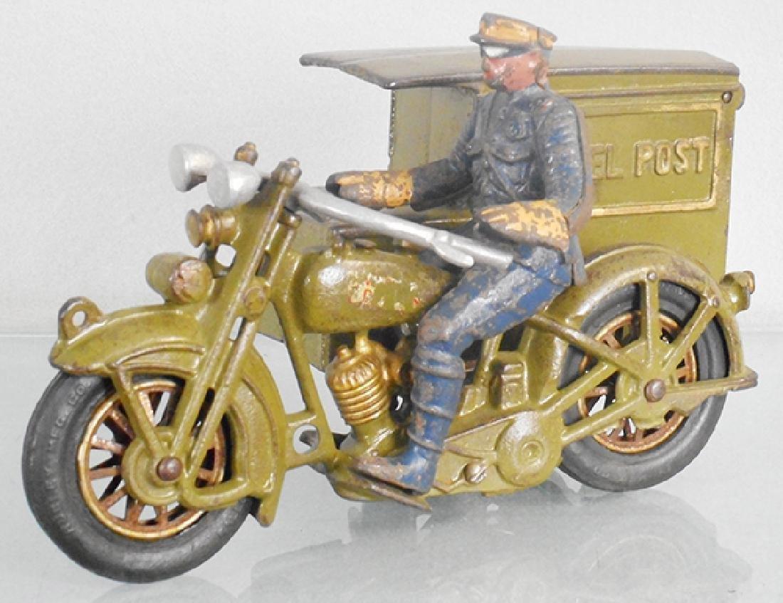 HUBLEY 11 HARLEY DAVIDSON PARCEL POST MOTORCYCLE