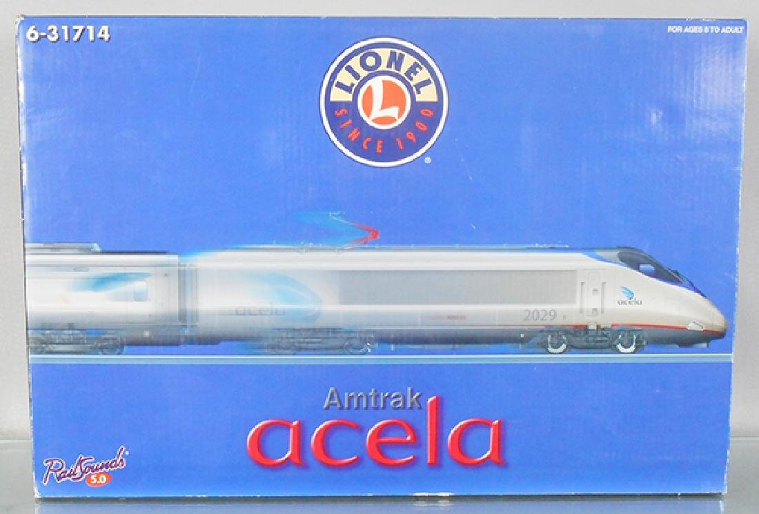 LIONEL 31714 AMTRAK ACELA TRAIN SET