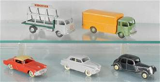 5 FRENCH DINKY VEHICLES