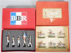 2 FRENCH SOLDIER SETS