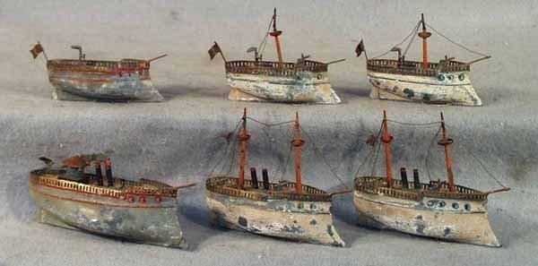 289: CARETTE 6 SHIP FLOTILLA