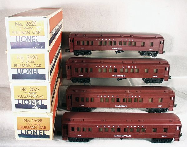 404A: 4 LIONEL MADISON CARS