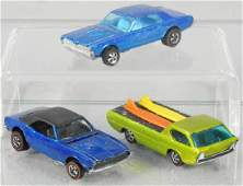 3 HOT WHEELS RED LINE AUTOS