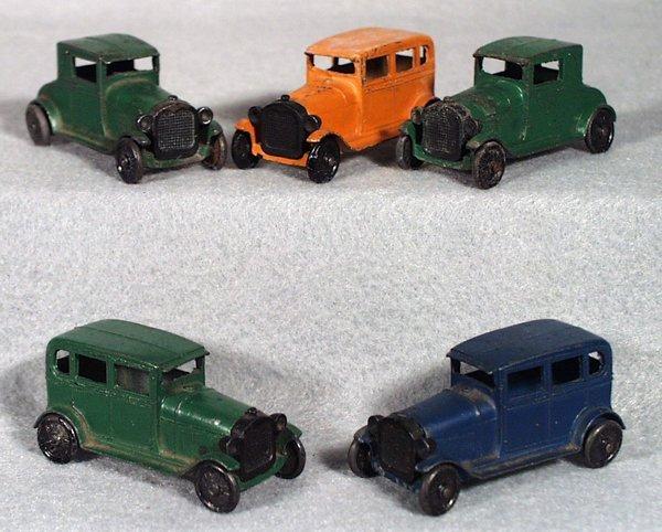 1: 5 TOOTSIETOY MODEL A AUTOS