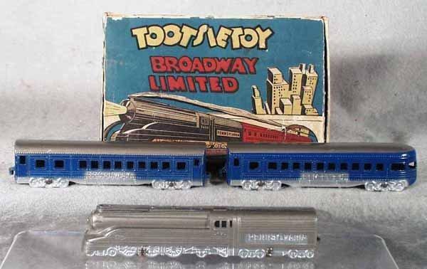 198: TOOTSIETOY 188 BROADWAY LIMITED SET
