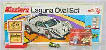 HOT WHEELS 6512 SIZZLERS LAGUNA OVAL SET