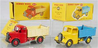 2 DINKY 410 BEDFORD END TIPPERS