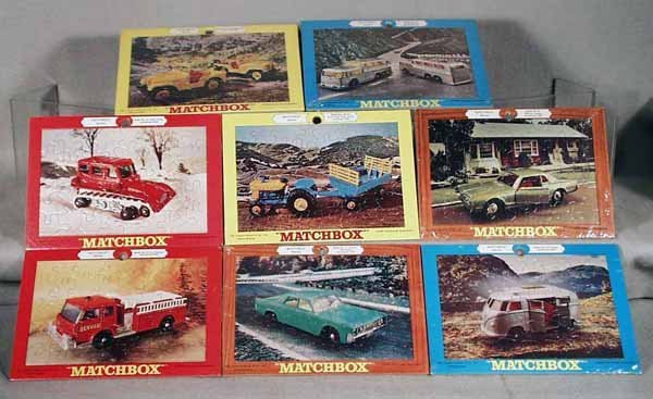 14: COMPLETE SET OF MATCHBOX JIGSAW PUZZLES