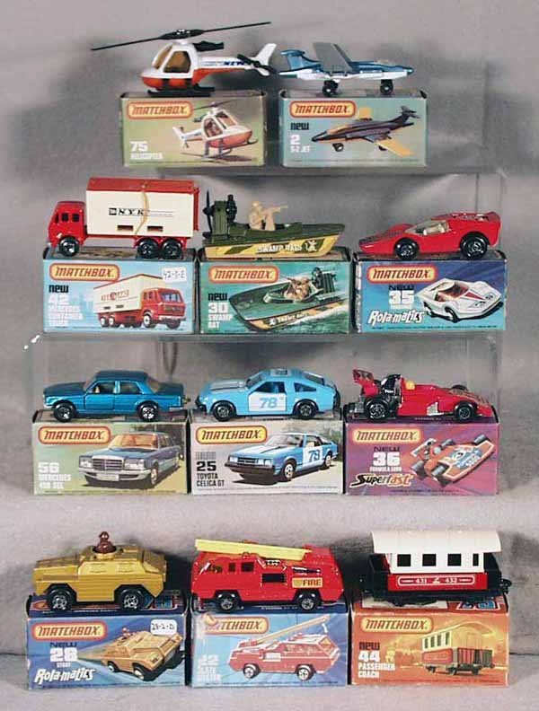 19: 11 MATCHBOX SUPERFASTS