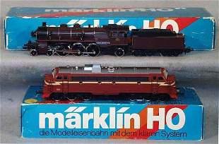 003: 2 MARKLIN LOCOS