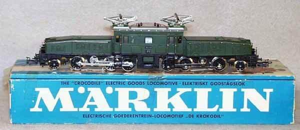 007: MARKLIN 3015 CROCODILE LOCO
