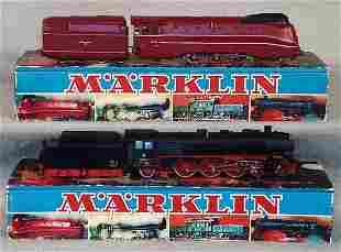 009: 2 MARKLIN LOCO & TENDER SETS