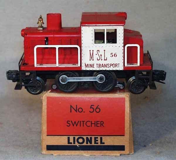 015: LIONEL 56 M&StL SWITCHER