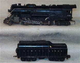 017: LIONEL 736 LOCO & 2671WX TENDER