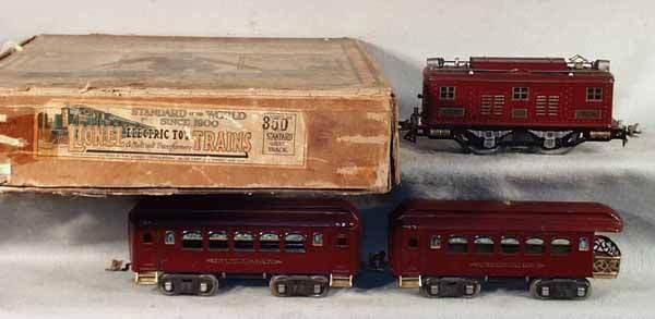022: LIONEL 350 TRAIN SET