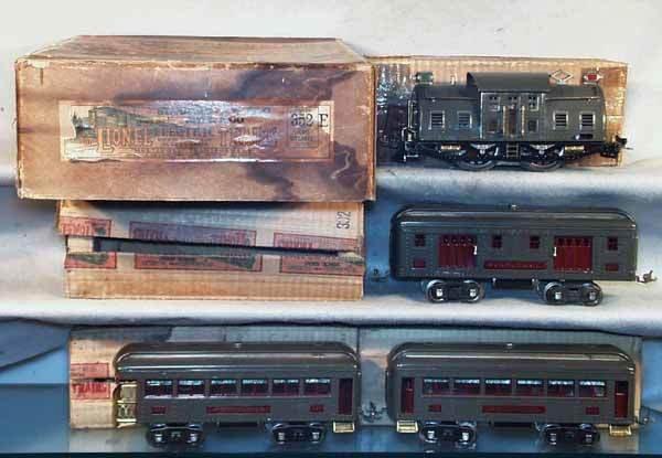 023: LIONEL 352E TRAIN SET